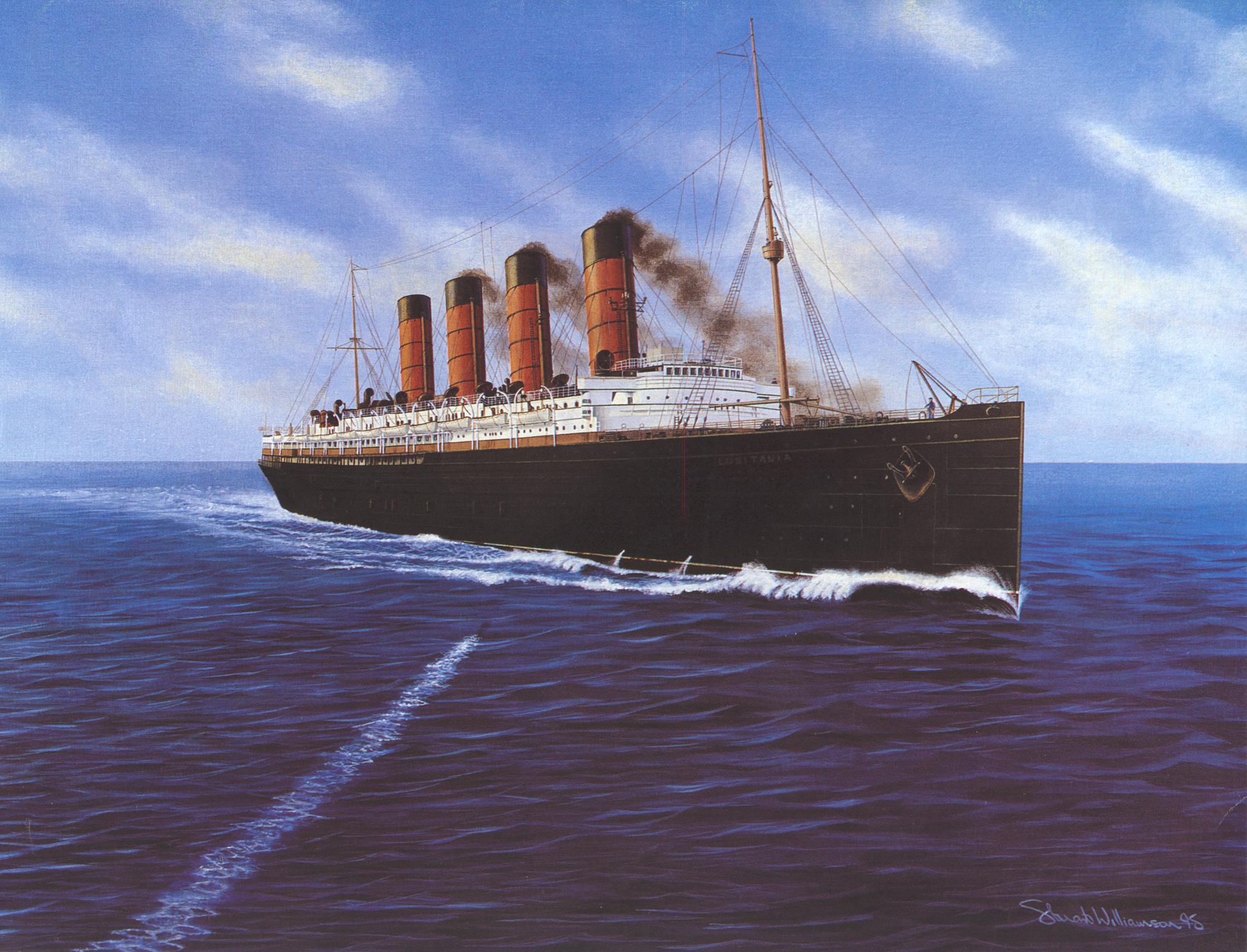 El Hundimiento Del Lusitania [1918]
